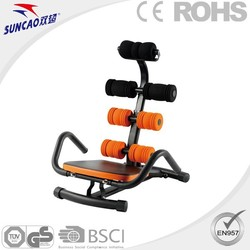 SUNCAO deluxe indoor abdominal fitness equipment