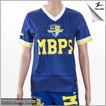 cheap custom sublimation polyester dri fit soccer uniform