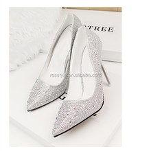 2015 europe style bridal wedding high heel shoes women pointed toe shoes ladies stilettos high heel shoes