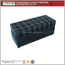 garment shop accessories modern design leather sofa