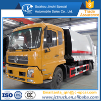 Manual Transmission Type and Diesel Engine 11 cubic meters compression mini/small garbage truck for sale