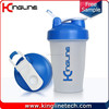 Any color 16oz/400ml smart protein shaker bottle in any color (KL-7011D)