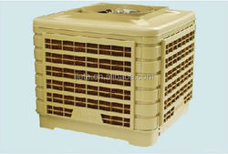 Environmental protection air cooler by water evaporation