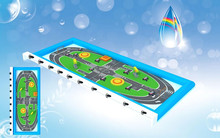 2015 Remote Control Car race play area,play game car racing