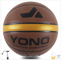 brand custom design leather laminate basketballs for match/training high quality