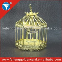 birdcage shape souvenir gift use high quality 3D Christmas products 2015