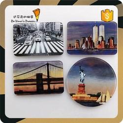 Acrylic Photo Frame USA New York Tourist Souvenir fridge magnet