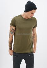 China Wholesale Slim Fit Short Sleeve Men Summer Tee Organic Cotton Plain T Shirt