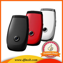 2.2INCH QVGA Big Keyboard Big Font GSM GPRS/WAP Quad Band MTK6260 Unlocked Dual SIM Card SOS Flip Cell Phone T03