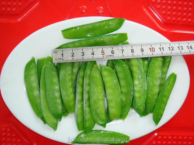 newest crop iqf frozen snow pea pods