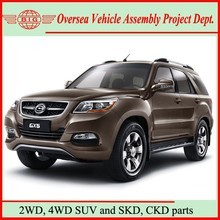 high cost-effective luxurious 2WD & 4WD diesel Chinese new model SUV