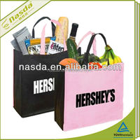 lovely printing pp non woven bag for shopping