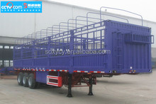 Fence Semi trailer with 3 axle semitrailer on China manufacture