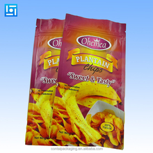 chips packaging bags stand up potato chips bag plastic packaging bag with different design