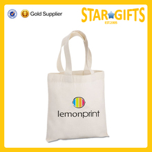 Wholesale 6 oz sturdy cotton sheeting shopping bag for tradeshow