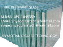 beijing new product 2015 excellent safe fire rated glass