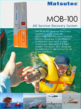 MOB-100 Personal AIS device designed to be fitted to lifejacket