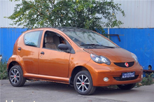 Electric Vehicle 4.5KW Solar Rechargeable Electric Car Cheap and High Quality Sedan for sale