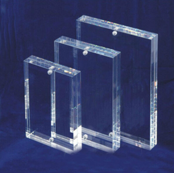 Hot sales clear acrylic photo frame cube wholesale