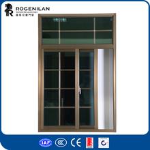 ROGENILAN 76 series metalic windows pictures with low price aluminum windows wheels