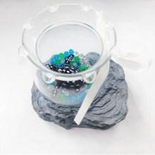 Wholesale 2015 new arrive small Plastic Table fish tank/vivid Aquarium/fishbowl