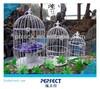 240X450mm wire mesh decorative wooden bird cages wholesale antique PF-E590