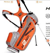 2016 full waterproof caddie nylon golf stand bag