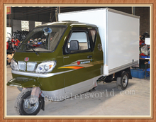 200cc, 250cc 3 Wheel Cargo Motorcycle With Closed Cabin Tricycle For Sale