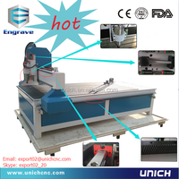 Hot sale! skillful manufacture cnc router woodworking lathe