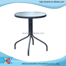 outdoor furniture oval glass top coffee table
