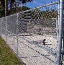 Specialized production chain link fence
