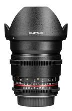 Samyang 16mm T2.2 ED AS UMC VDSLR Video Lens for Canon