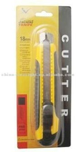 18mm Plastic utility Knife with robber