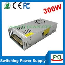 high power switching led power supply transformer 300w 12v 24v 36v for LED strips lighting AC110v/240v