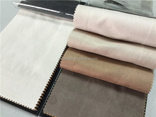 Cor bege camurça sintética tecido