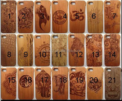 High quality wood cell phone wood case for iphone 6 4.7 inch