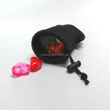Wholesale nylon mesh bag with drawstring