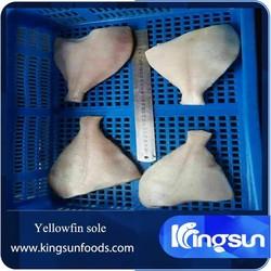 frozen yellow fin sole/yellowfin sole