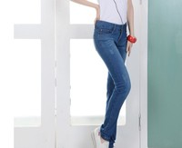Fashionable New Design High Quality Low Waisted fashion jeans women jeans de mujer