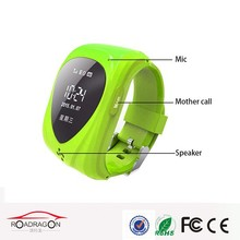 Mini Kids cell phone watch with gps, gps cellphone wrist watch, kid phone wrist watch with sim card slot