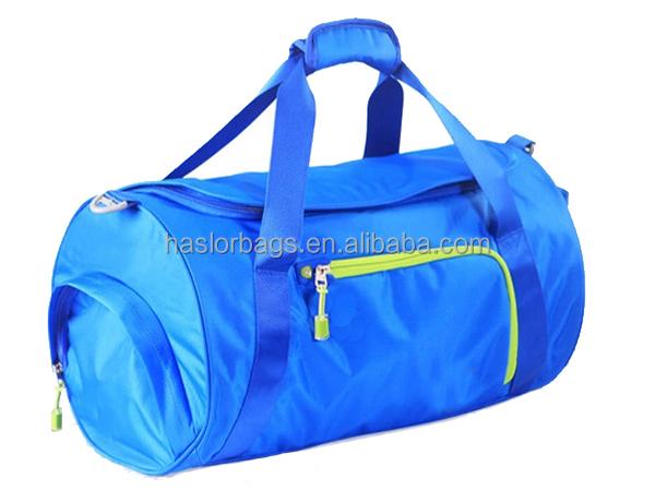 Nouveau Design Polyester voyage en plein air sac de sport, Sac de sport avec chaussures compartiment