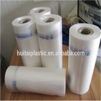 food grade hdpe natural printed plastic vegetable bag on roll