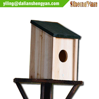 Small cute craft wooden diy bird houses birdhouse