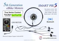 24V 250W 36V 500W 48V 1000W Golden Motor Magic Pie 5 ebike conversion kit / electric bicycle kit / electr bike hub motor