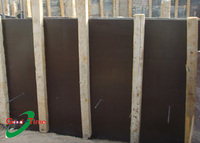 high quality aluminum faced plywood /cheap film faced plywood