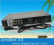 Receptor Satelite Internet Jynxbox Ultra HD V3 Free HD TV canales para América del Norte