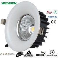 COB High quality LED Downlight anti-glare 10w Dimmable downlight