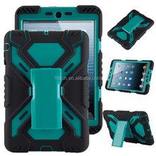 shockproof bumper cover for iPad mini 2 / iPad mini 3 stand case