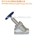 rvy solda direto válvula de segurança para amônia refrigeração sistema