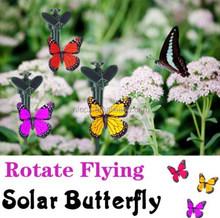 Outdoor Solar Powered Butterfly Garden Decoration / flying butterfly / Garden Butterfly